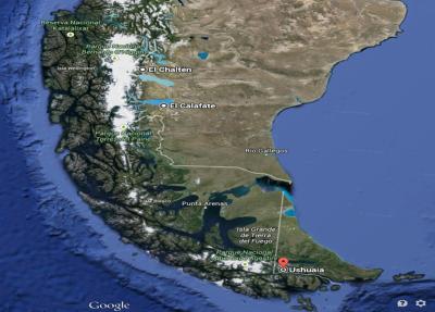 1_Gloogle maps_patagonia argentina