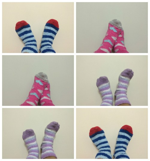 meias fofas